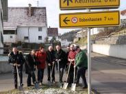 Osterberg: Ausbau der Dorfstraße beginnt