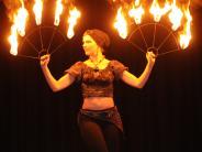 """350 Besucher im Kulturzentrum: Vöhringen feiert """"fire, drums & dance"""""""