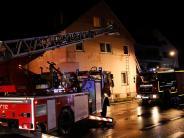 Bellenberg: Zwölf Menschen bei Feuer gerettet: Brandursache steht jetzt fest