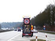 """Verkehr: Von Montag an heißt es auf der A7 """"Achtung Stau"""""""
