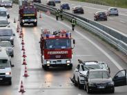 Vöhringen: Drei Auffahrunfälle binnen weniger Minuten