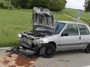 Verkehr: Vier Verletzte bei Auffahrunfall