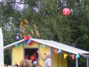: Neue Hütten für die Tagesstätte