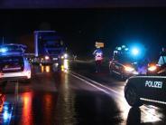 Illertissen: Schwangere erstochen: Polizei sucht mit Hubschrauber Fluchtauto