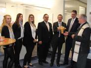 Segnung: Babenhauser Raiffeisenbank präsentiert sich in neuen Räumen