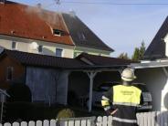 Vöhringen: Brand in Vöhringer Mehrfamilienhaus