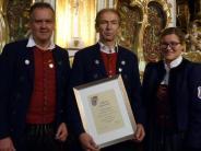 : Musiker Karl Notz geehrt