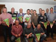Versammlung: Beinhart-Kicker ehren Gründungsmitglieder