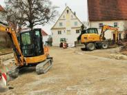 Kellmünz: Rechbergring: Sanierungsoll bald abgeschlossen sein