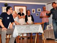 Schauspiel: Turbulente Szenen auf der Oberrother Theaterbühne