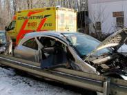 Dietenheim/Regglisweiler: Autos prallen bei Dietenheim schwer zusammen
