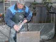 Altenstadt: In Altenstadt wird ein Altar gebaut