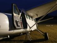 Illertissen: Video: Pilot verhindert mit Notlandung Schlimmeres