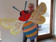 Malerei: Die Bienen sind startklar