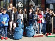 Babenhausen: Mehr als 500 Müllsammler in Babenhausen unterwegs