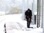 Landkreis: Winter bricht über die Region herein