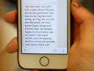 Vöhringen/Weißenhorn: Das Handy ruft zum Gebet