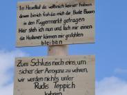 Kirchhaslach/Babenhausen: Warum Kirchhaslach jetzt eine Schandmaie hat