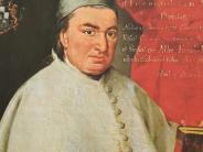 Roggenburg: Die Klostergemeindefeierteinen berühmten Abt