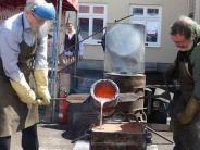 Neu-Ulm: Pfuhl gießt sich eine Glocke