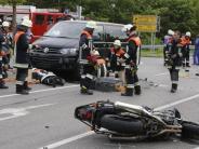 Illertissen: 43-jähriger Motorradfahrer stirbt bei Unfall
