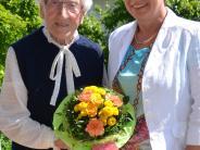 Geburtstag: Haus und Garten halten Marianne Liebner fit