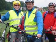: Radtour mit Landrat Freudenberger