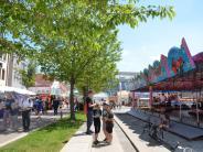 Illertissen: Kaiserwetter beim Frühjahrsmarkt in Illertissen