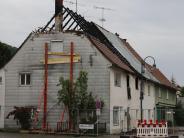 Altenstadt: Feuerin Wohnhaus: Polizei ermittelt wegen Brandstiftung