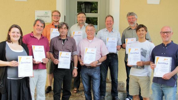 Babenhausen: Die Jugendbildungsstätte wurde ausgezeichnet