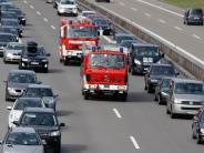 Illertissen: Nach Unfall: Diskussion um Rettungsgassen