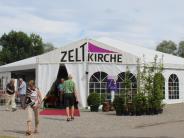 Balzheim: Kirche im Zelt