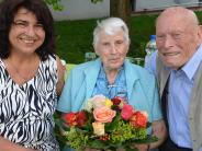 Jedesheim: Zwei Würdenträger gratulieren zum 95. Geburtstag