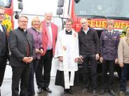 Feuerwehr: Fest für zwei neue Fahrzeuge