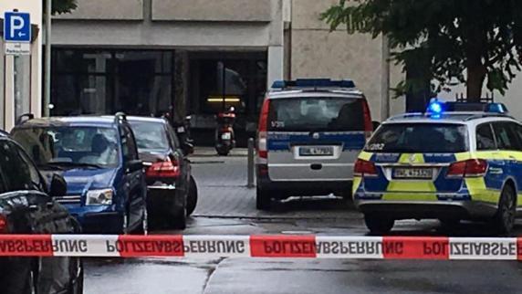 Amokalarm an Ulmer Schule: Polizei hat das Gebäude umstellt