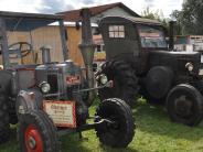 Kirchhaslach: Fahrzeuge aus längst vergangener Zeit