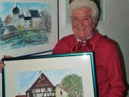 Kellmünz: Sie malt Bilder für den guten Zweck