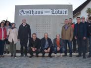 Unterroth: Neuer Dorfplatz in Erinnerung an den Löwen