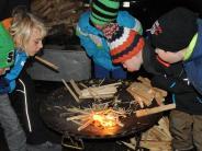 Babenhausen: Besucher trotzen Kälte und Regen