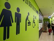 Neu-Ulm: Schöne Bescherung auf der Toilette