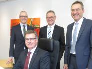 Krumbach/Babenhausen: Bankenvorstand hat nach der Fusion gut lachen