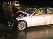 Illertissen: Unfälle und lange Stausauf der Autobahn nahe Illertissen