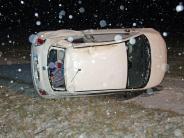 Landkreis Neu-Ulm: Schneeglätte: Mehrere Unfälle in der Region