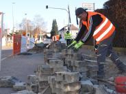 Illertissen: In der Auer Straße wird gegraben
