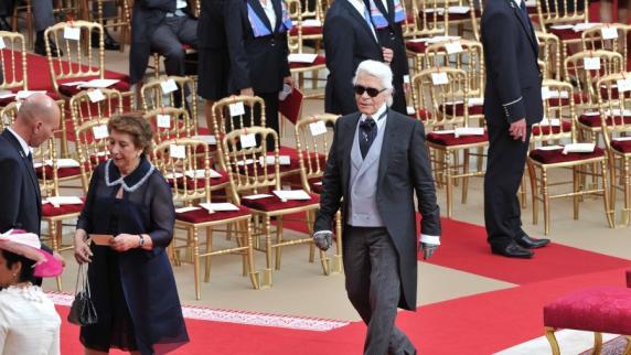 Fürstliche Hochzeit in Monaco Ein roter Teppich au