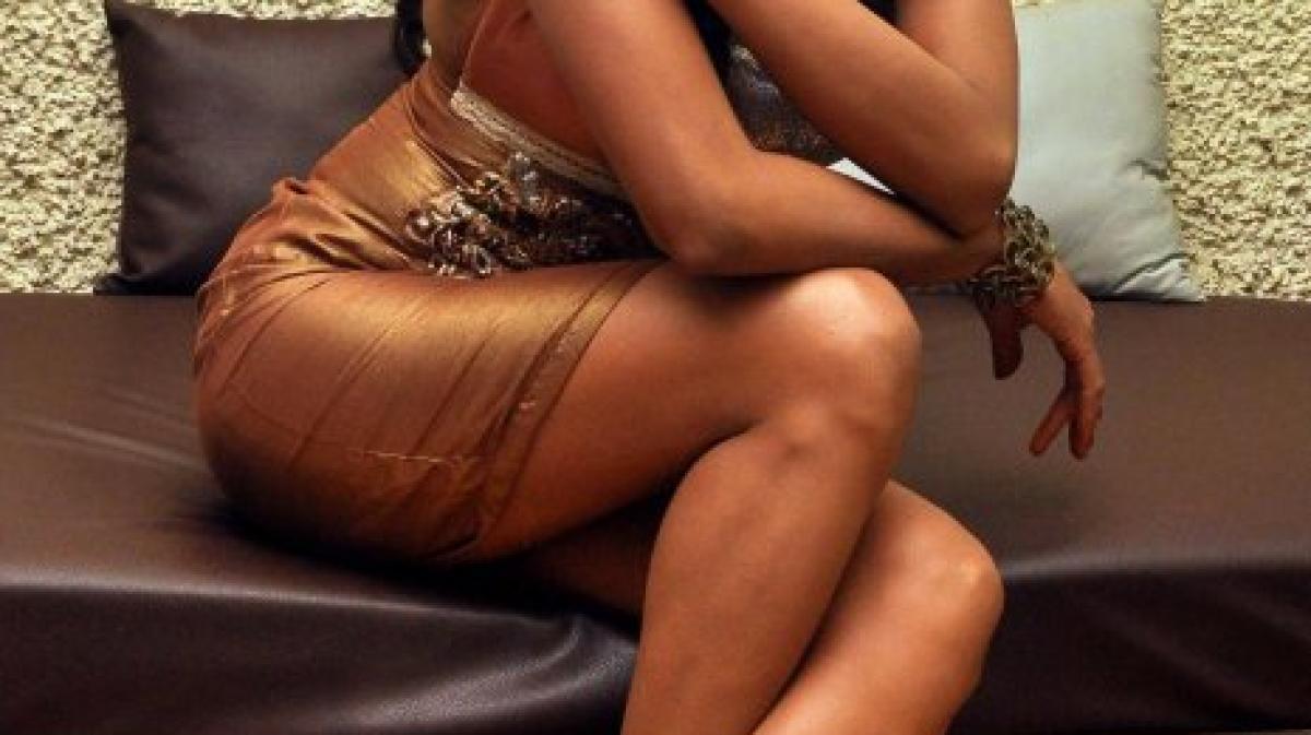 Indisches Aktfoto der Schauspielerin