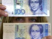 Währungswechsel: 12.640.000.000 D-Mark noch immer nicht umgetauscht