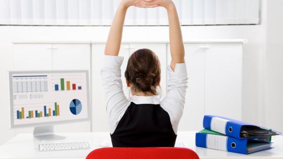 Gesund im Job: Entspannen durch Anspannen