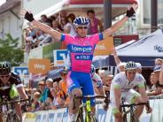Dritte Etappe der Bayern-Rundfahrt: Petacchi gewinnt und stürzt beim Zieleinlauf