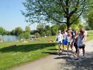 Neu-Ulm: Ludwigsfelder See: Spätaufstehern droht Verkehrschaos